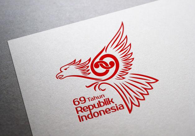 01 Unofficial logo HUT RI Ke-69