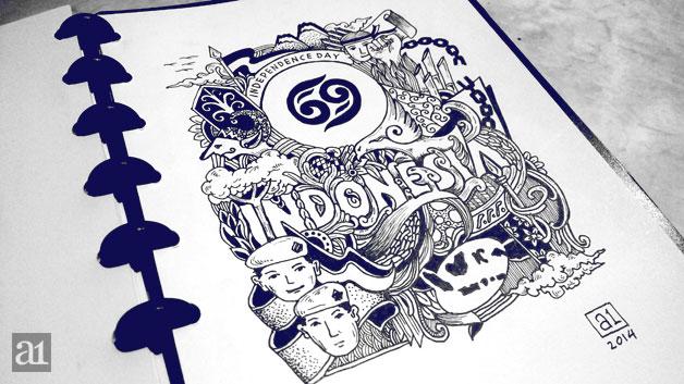 02 Doodle HUT RI ke-69