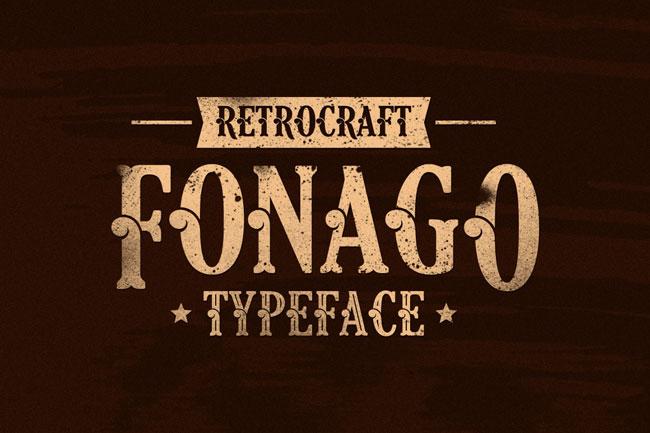 Fonago Font 1