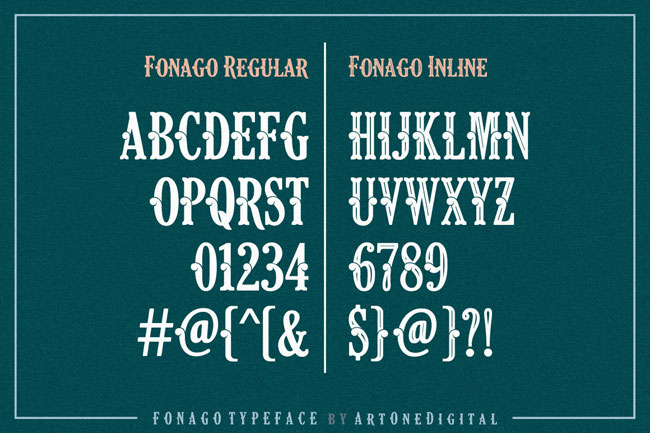 Fonago Font 3